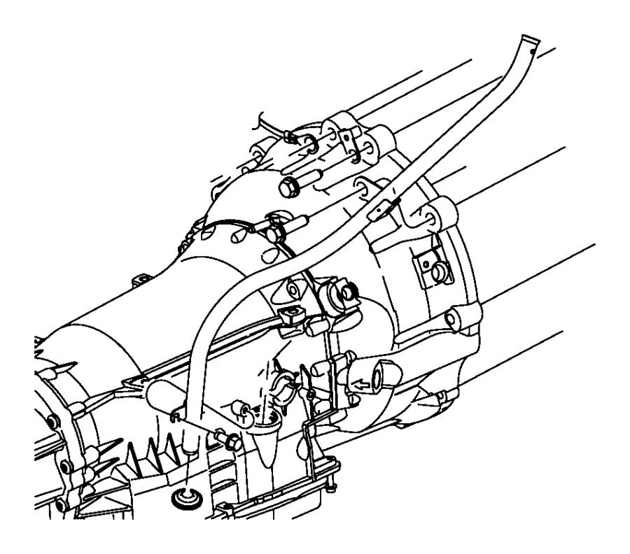 2014 Chrysler 300 Tube. Transmission oil filler
