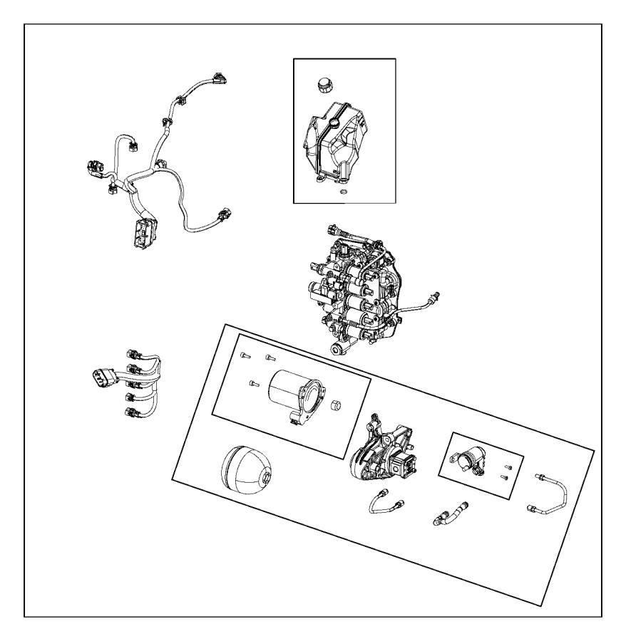2016 Dodge Dart Harness, wiring. Transmission. Module