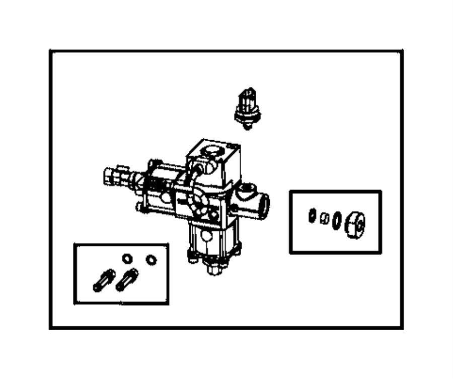 2017 Ram 2500 Filter kit. Fuel pressure regulator. Cng