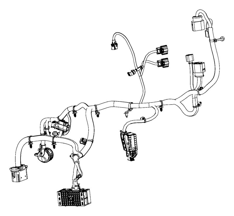 2015 Chrysler 200 Wiring. Transmission. [power train parts