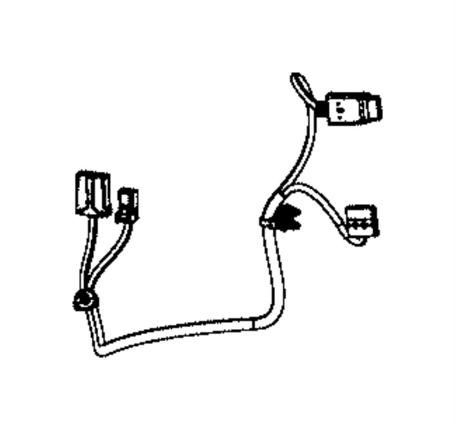 2015 Jeep Grand Cherokee Wiring. Seat back. Passenger