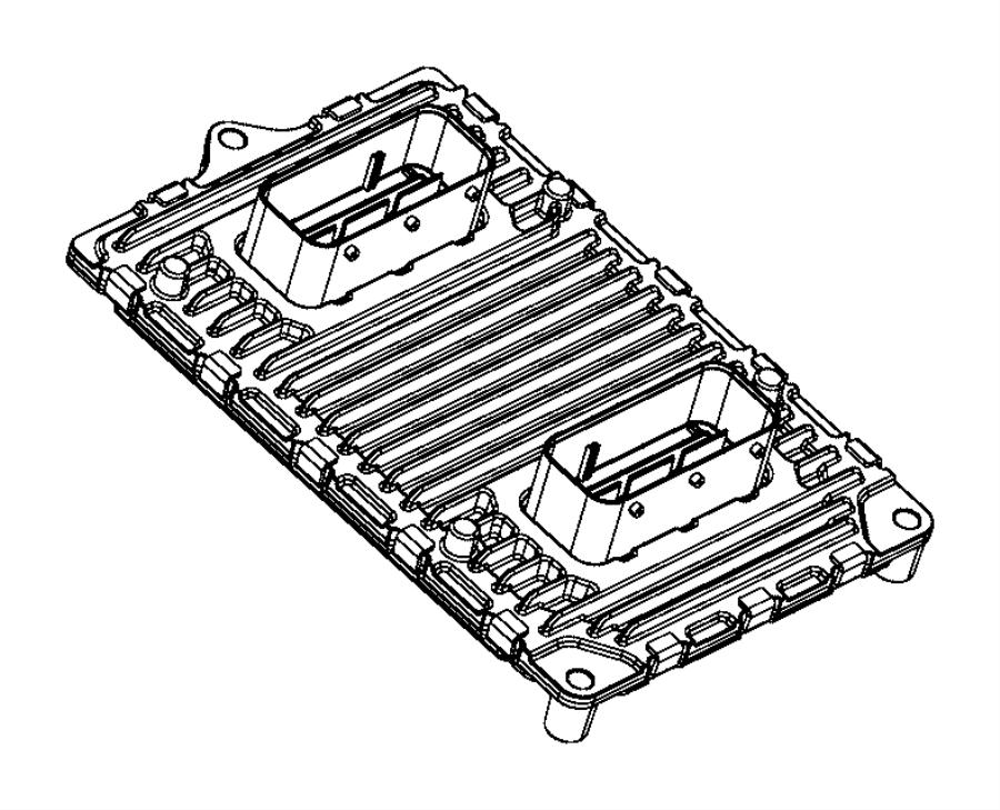 Jeep Cherokee Module. Powertrain control. Engine