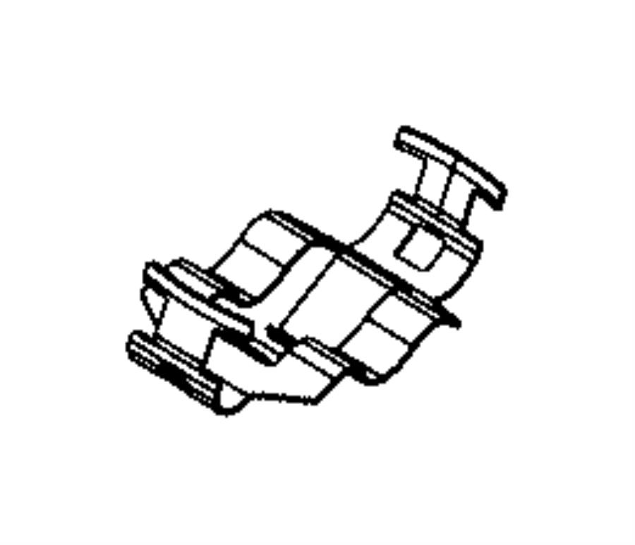 2017 Dodge Charger Clip. Sensor. Export. Rain, windshield