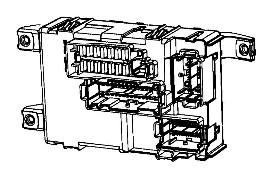 Fiat 500 Module. Body controller. Export, us, canada