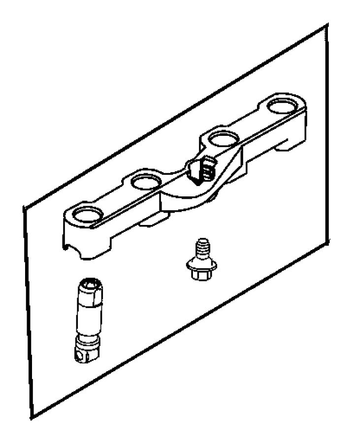 2005 Dodge Magnum Lifter. Hydraulic roller deactivating