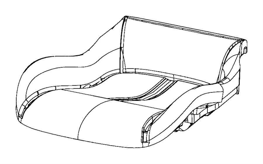 2017 Dodge Viper Module kit. Occupant classification. Trim