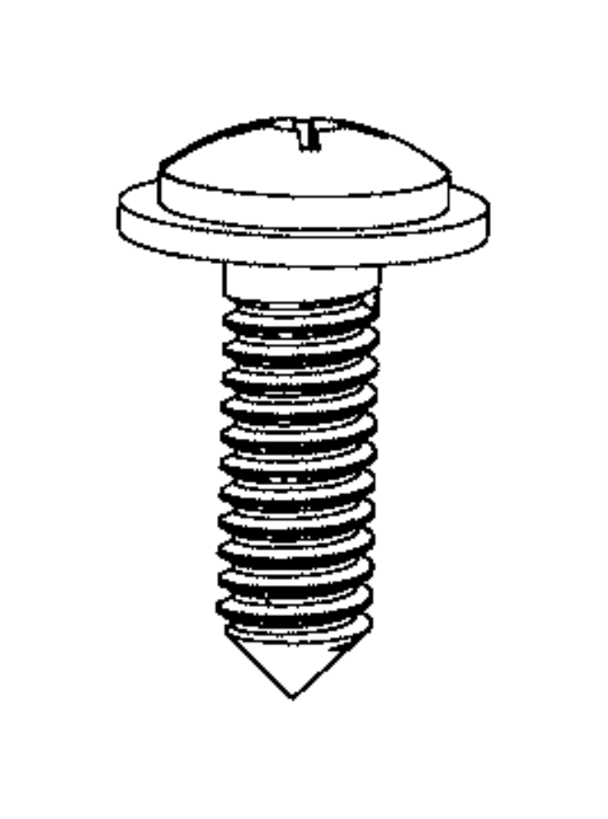 Ram ProMaster Screw. Round washer head tapping, tapping