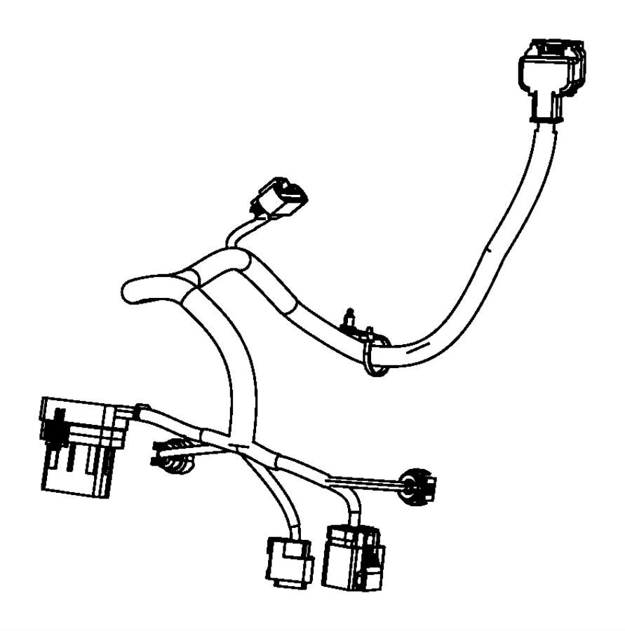 Dodge Journey Wiring. Engine, transmission. Export