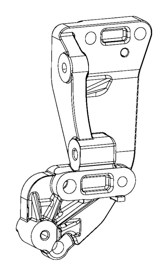 Chrysler 200 Bracket. Alternator, used for: alternator and