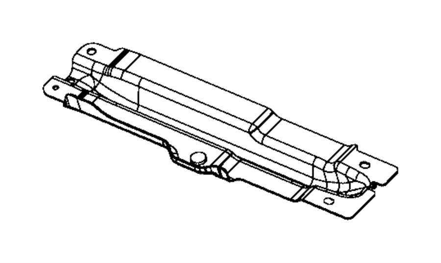 Chrysler 200 Skid plate. Fuel tank. Left. [2.0l i4 turbo