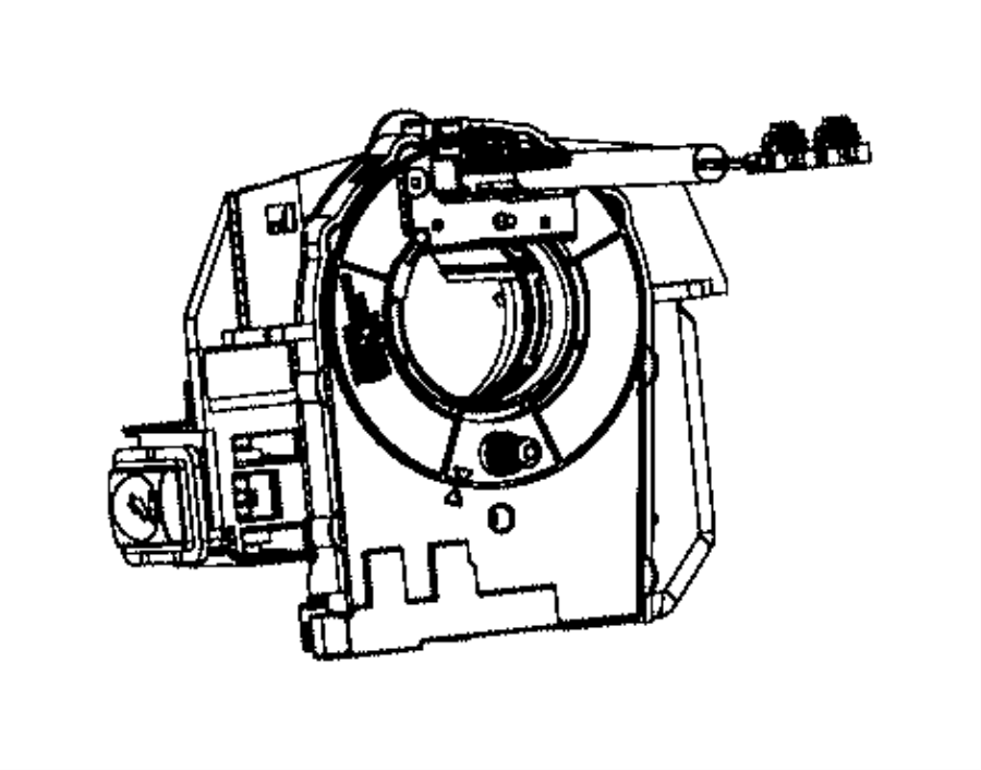 2015 Dodge Viper Clockspring. Steering column control