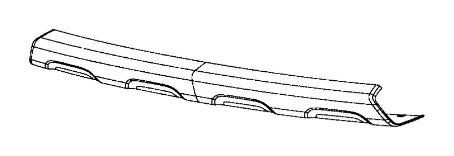 2016 Dodge Journey Applique. Fascia. Export. Color: [-xr