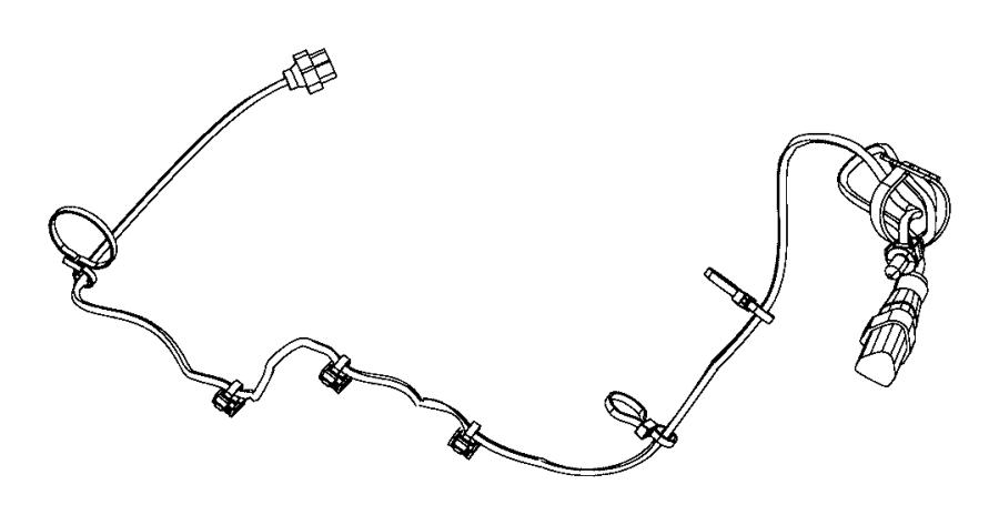 Dodge Durango Cord. Engine block heater. [5.7l v8 hemi mds