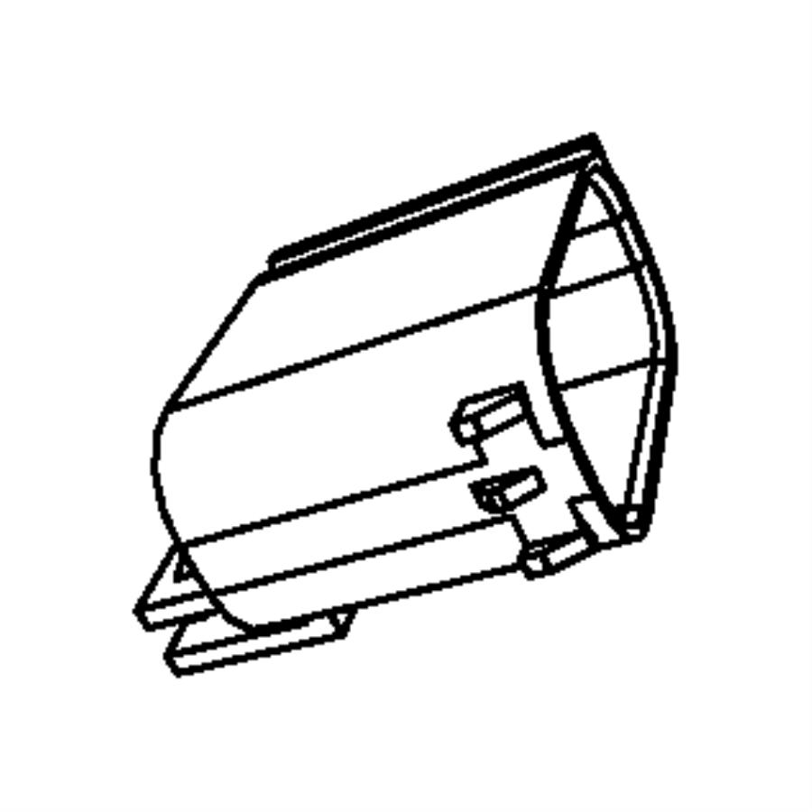Dodge Grand Caravan Cover. Wiring protector