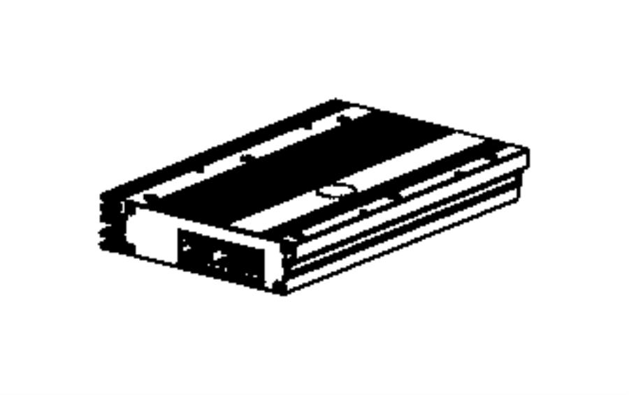 Jeep Wrangler Amplifier. Export. Speakers, panel