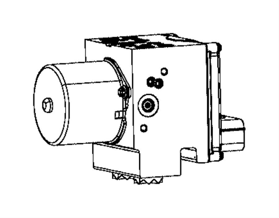 Ram 2500 Module. Anti-lock brake system. [electronic