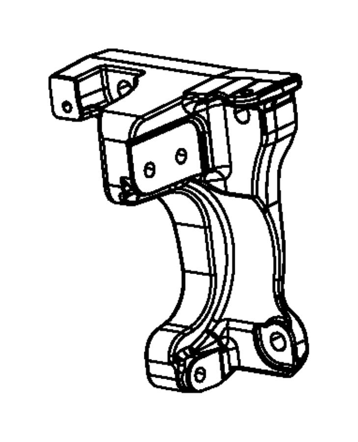 2015 Dodge Dart Bracket. Intermediate shaft. [2.0l i4 dohc