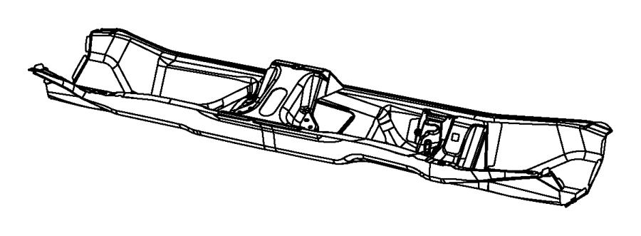 2015 Jeep Cherokee Crossmember. Dash. Panel, cowl, front