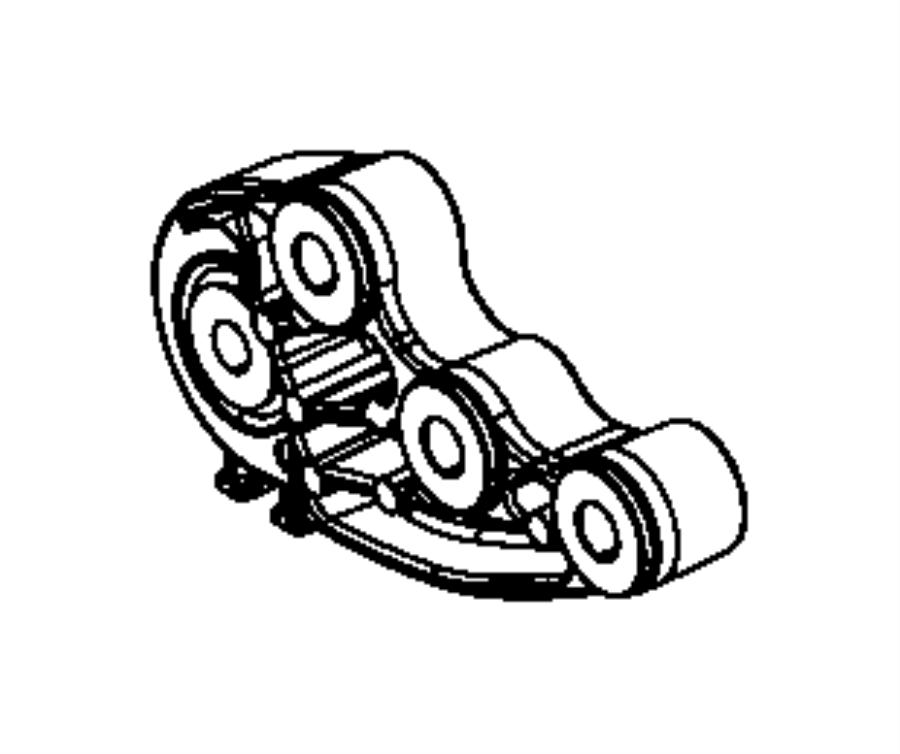 2014 Dodge Dart Bracket. Engine mount. Module, train