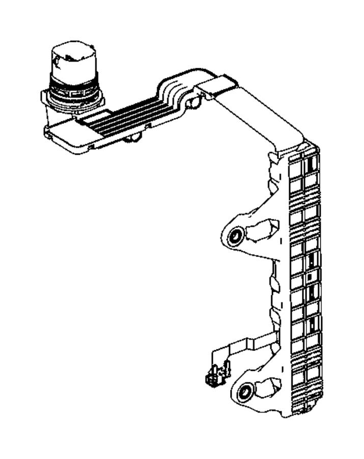 2015 Jeep Patriot Wiring. Jumper. Transmission. Train