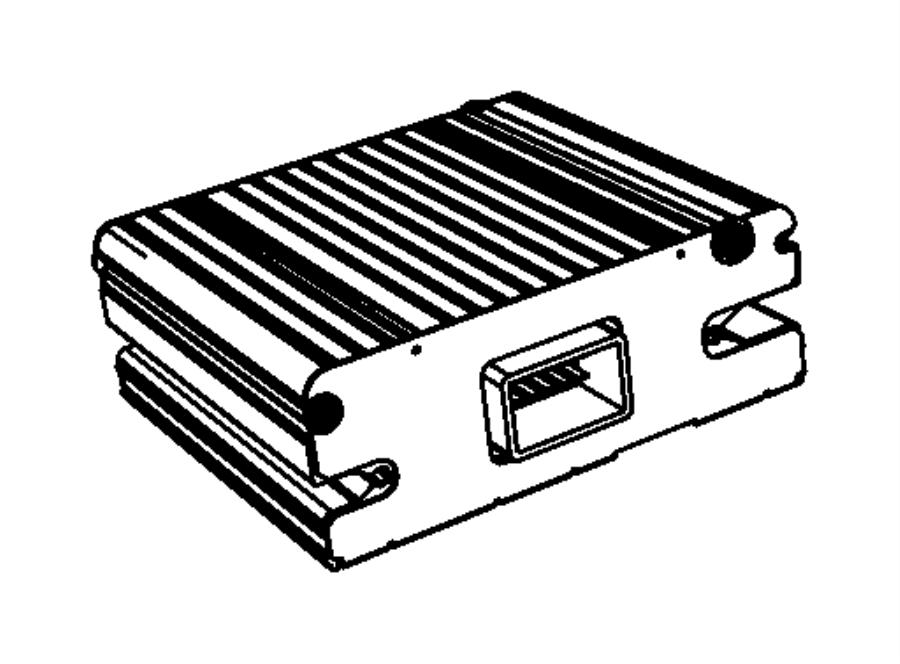 2010 Jeep Patriot Module. Power inverter. Panel