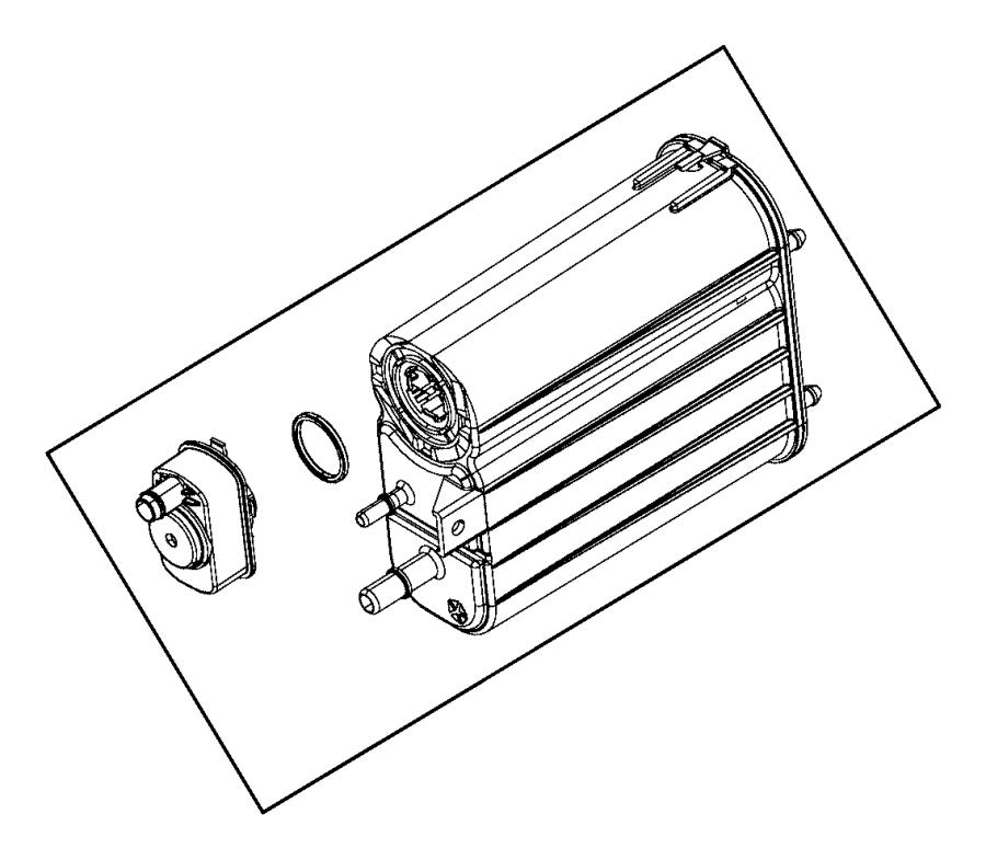 2008 Jeep Grand Cherokee Detector. Evaporative system