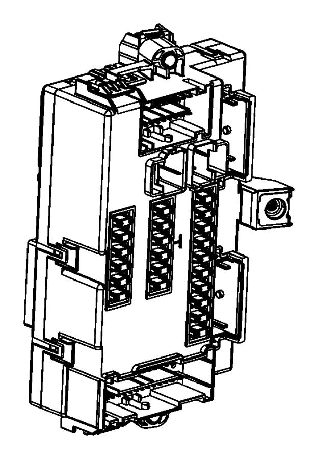 2014 Dodge Dart Module. Body controller. [bi-function