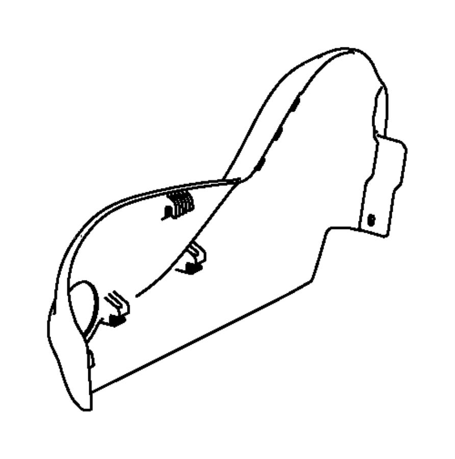 Dodge Dart Shield. Passenger outboard. Trim: [cloth low