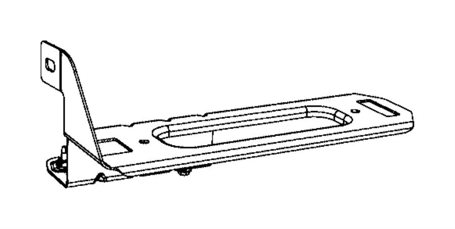 2016 Ram 3500 Module. Vehicle systems interface