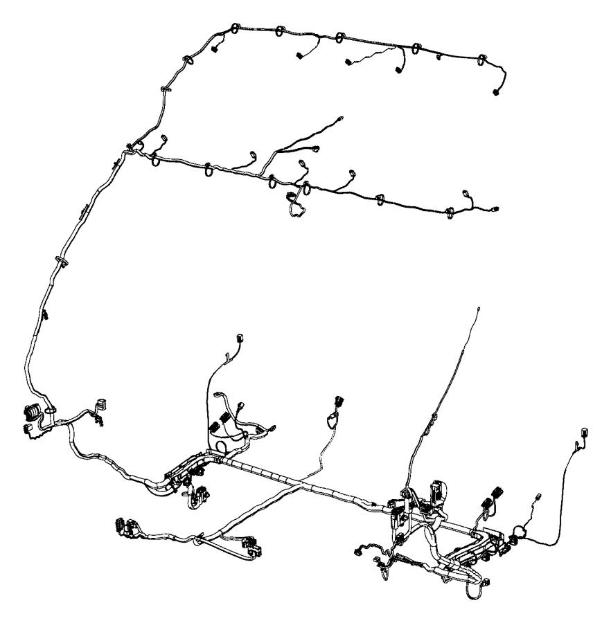 Ram ProMaster Wiring. Body. [uconnect 5.0 am/fm/cd/bt