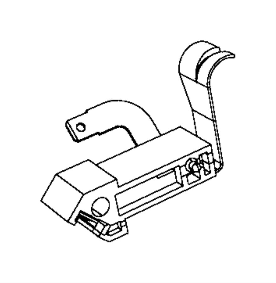 2015 Dodge Durango Switch. Fuel door. Locking, panel