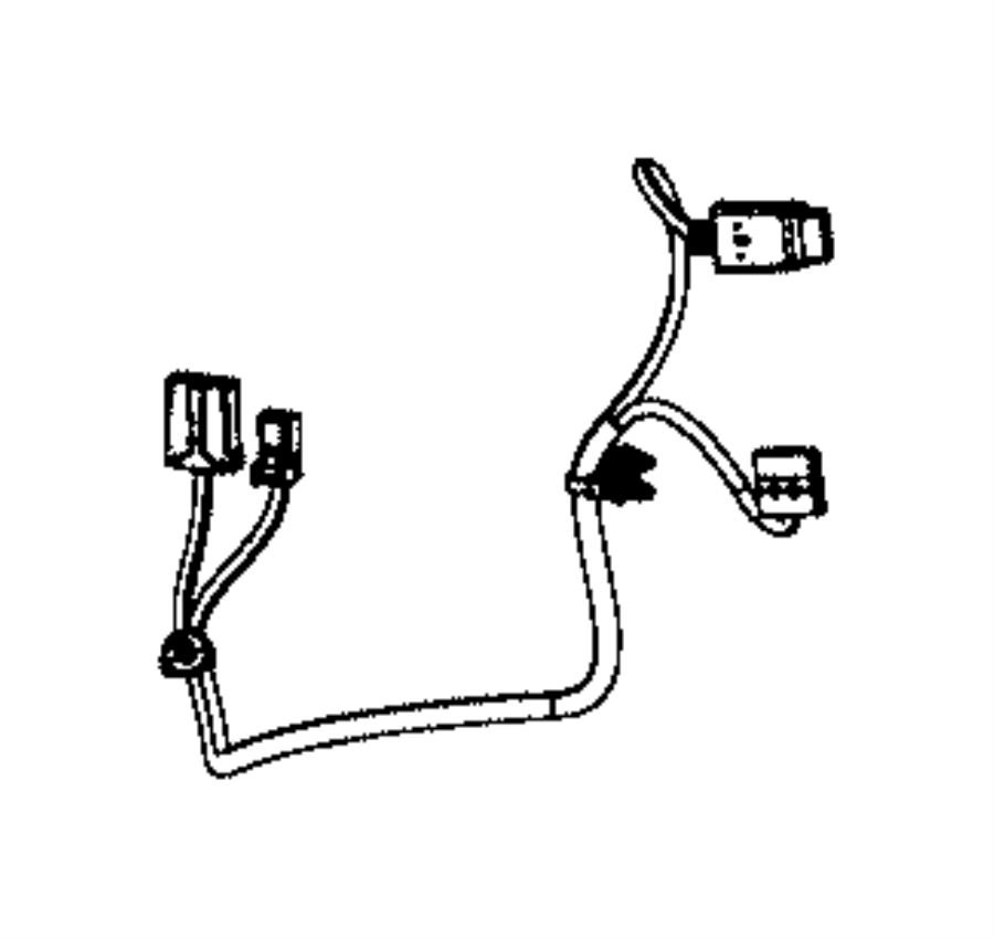 2017 Jeep Grand Cherokee Wiring. Jumper. Active head