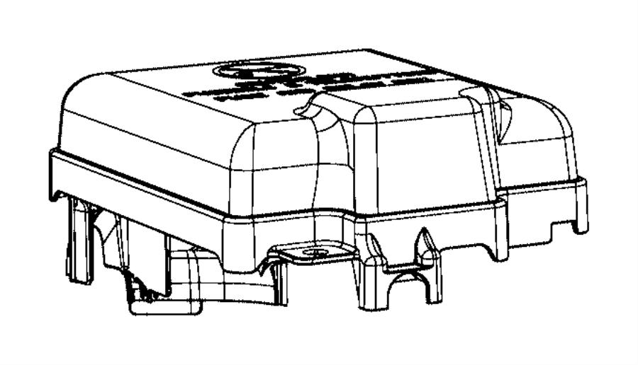 Ram PROMASTER CITY WAGON SLT Cover. Power distribution