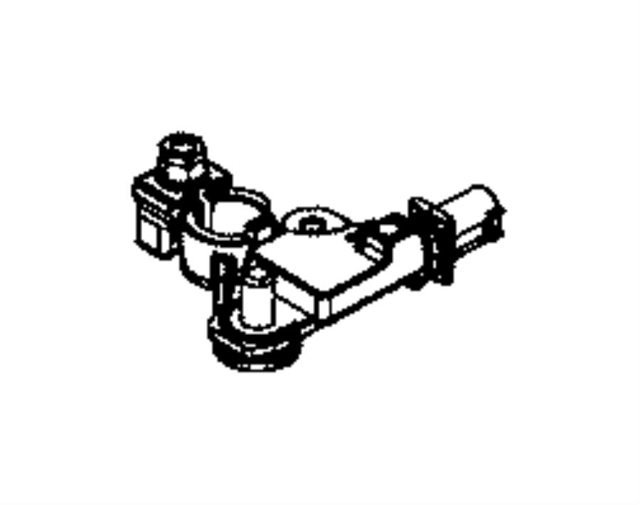 2014 Dodge Durango Sensor. Battery. Wiring, tray