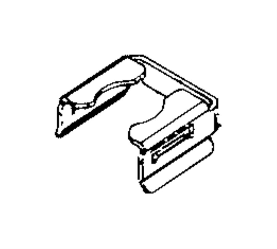 2016 Jeep Renegade Clip. Fuel injector. Export. Eam
