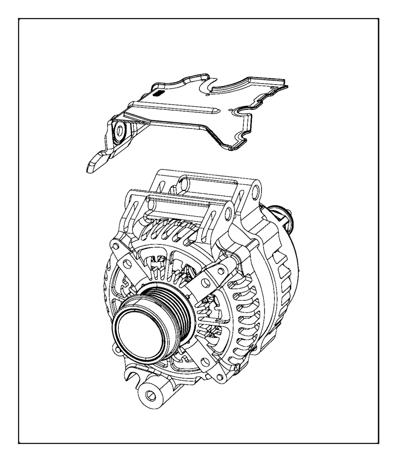 Jeep Cherokee Generator. Engine. [160 amp alternator
