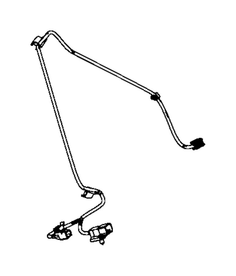 Dodge Ram 1500 Wiring. Shifter jumper. Instrument, panel