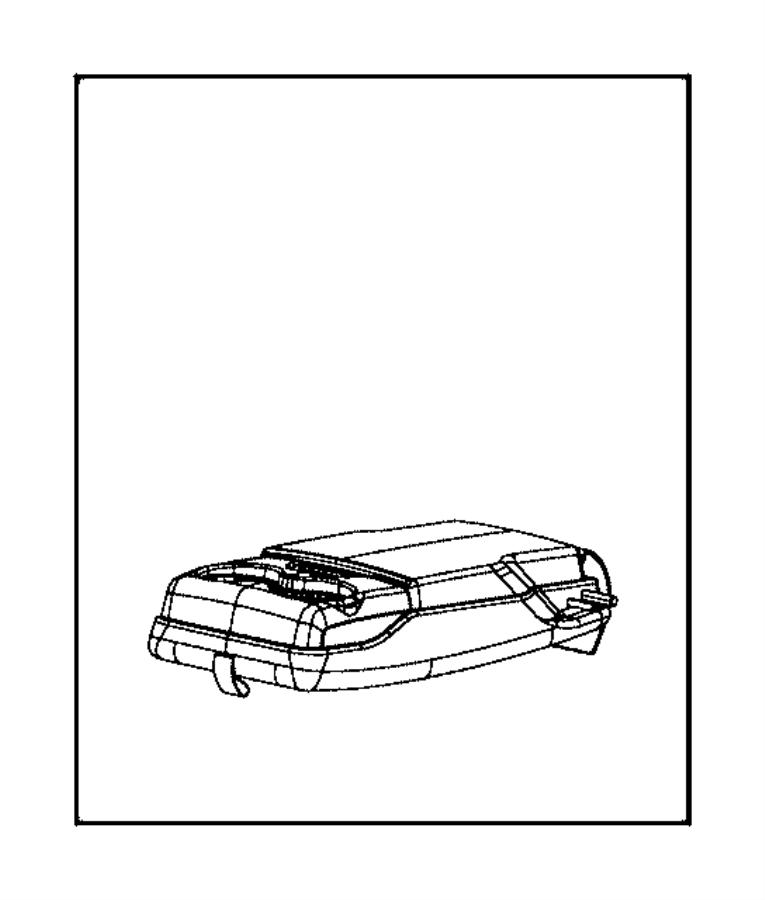 Chrysler 300 Lid. Center console storage. Trim: [leather
