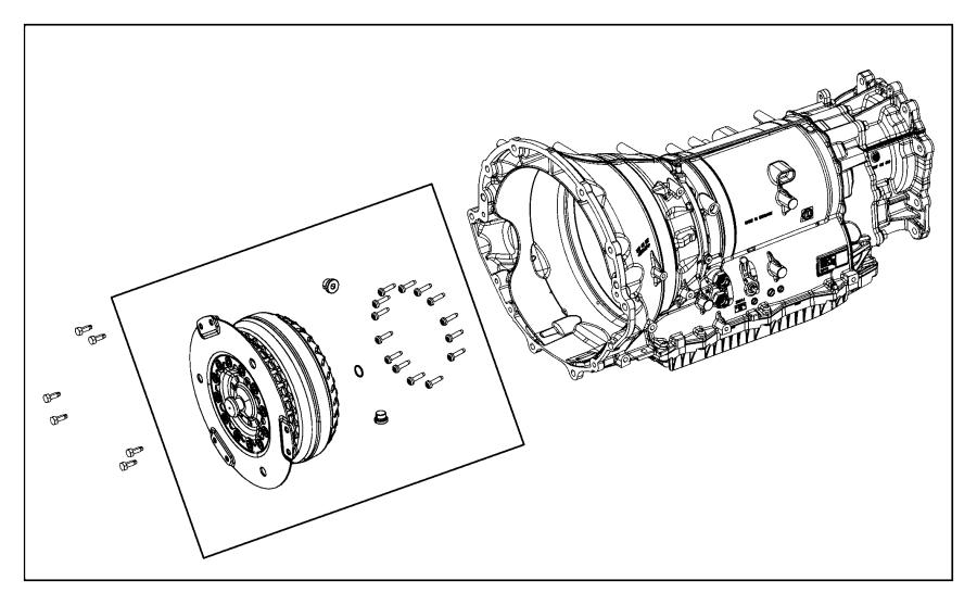 Dodge Charger Converter kit. Torque. Transmission