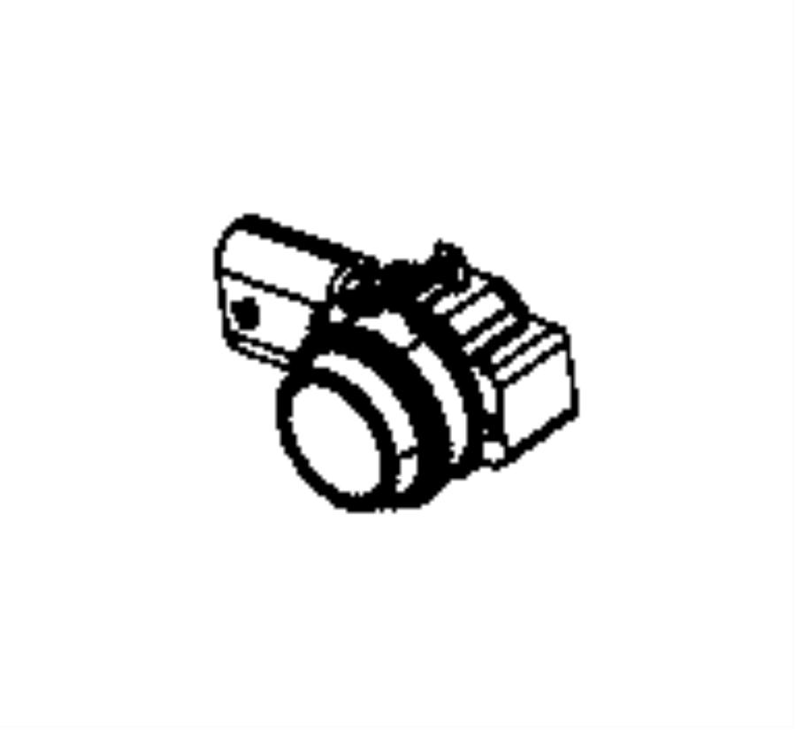 2014 Ram 2500 Sensor. Park assist. Export, inner, mexico