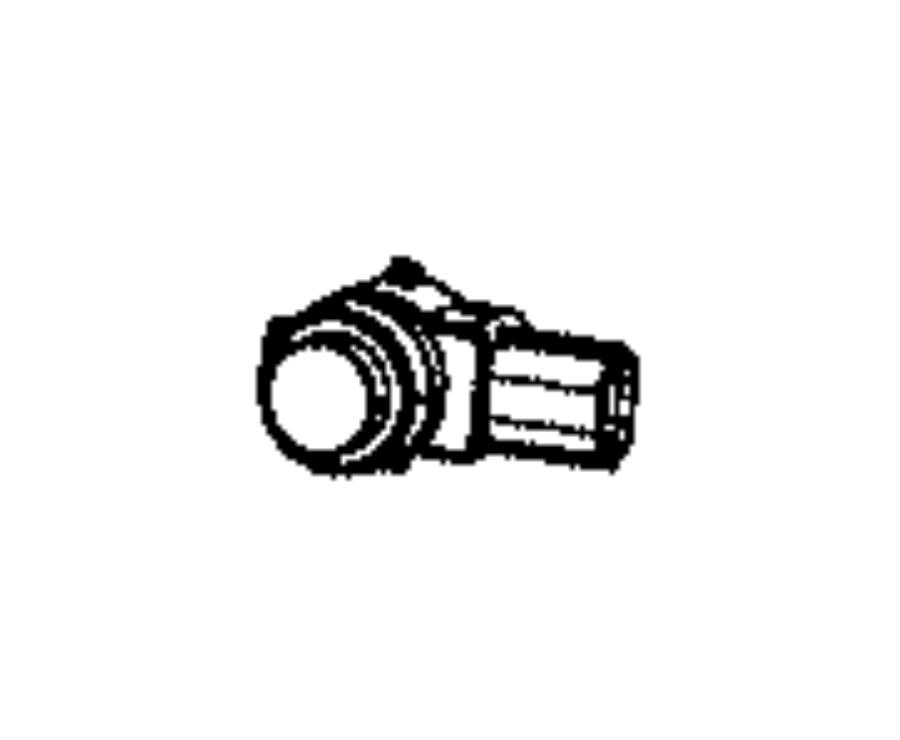 2016 Chrysler 300 Sensor. Park assist. Color: [no