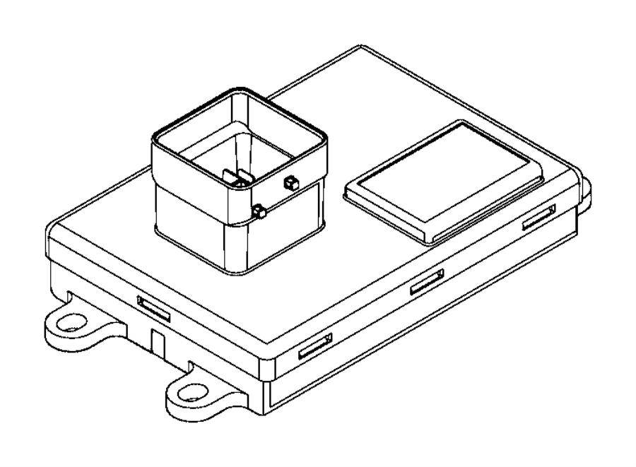 2013 Dodge Dart Module, smart drive unit. Controller