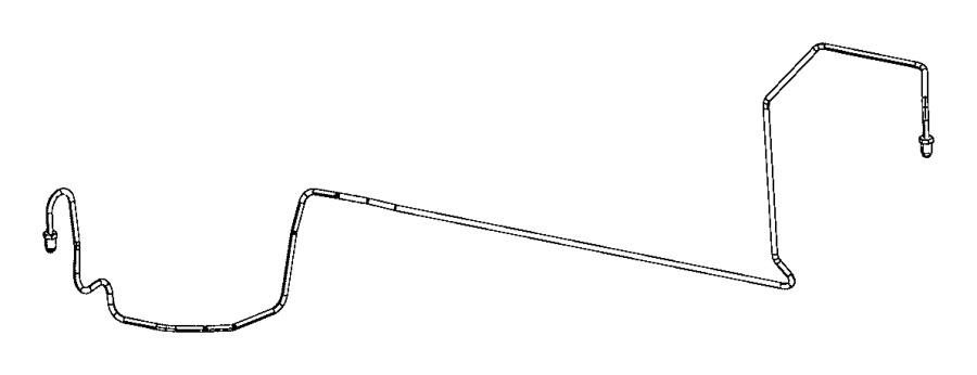 2016 Fiat 500L Tube. Brake. Hoses, maintenance
