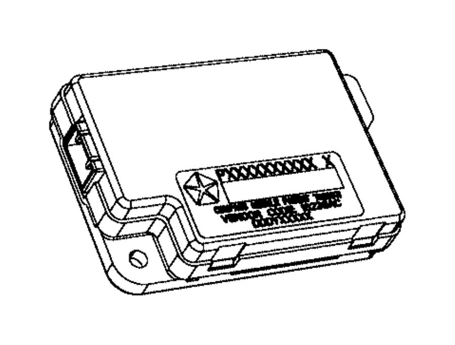 2016 Dodge Dart Module. Compass. Trim: [no description