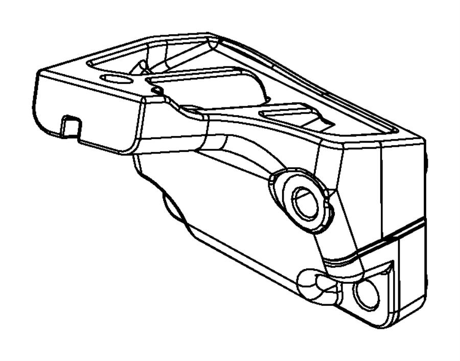 2017 Jeep Grand Cherokee Bracket. Engine mount. Left side