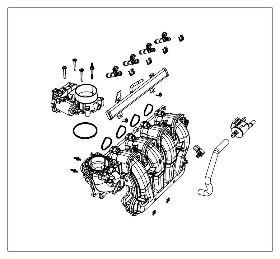 2013 Dodge Dart Bolt. Hex flange head. M6x2.14.00x43.00