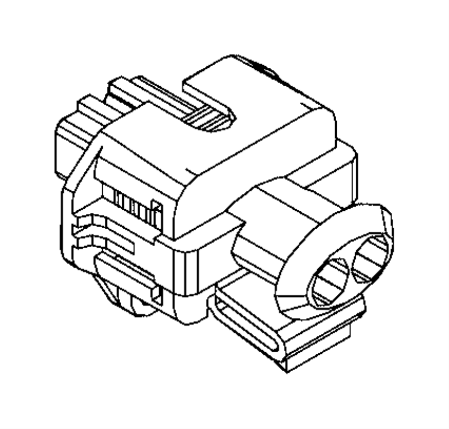 Ram PROMASTER CITY WAGON Connector. Electrical. Export, us