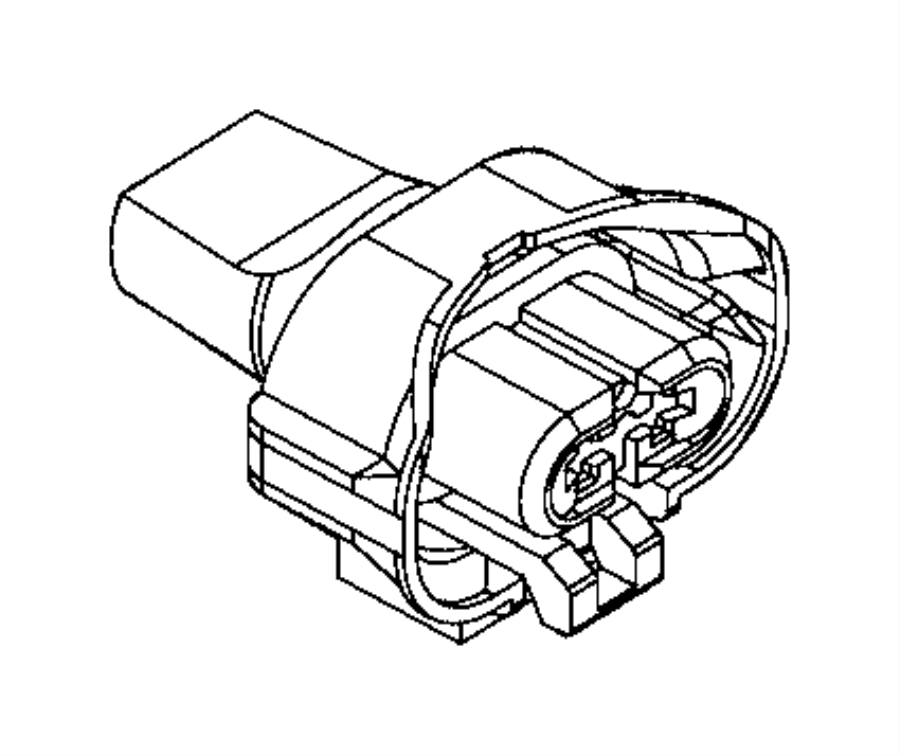 2017 Ram PROMASTER CITY WAGON Connector. Electrical
