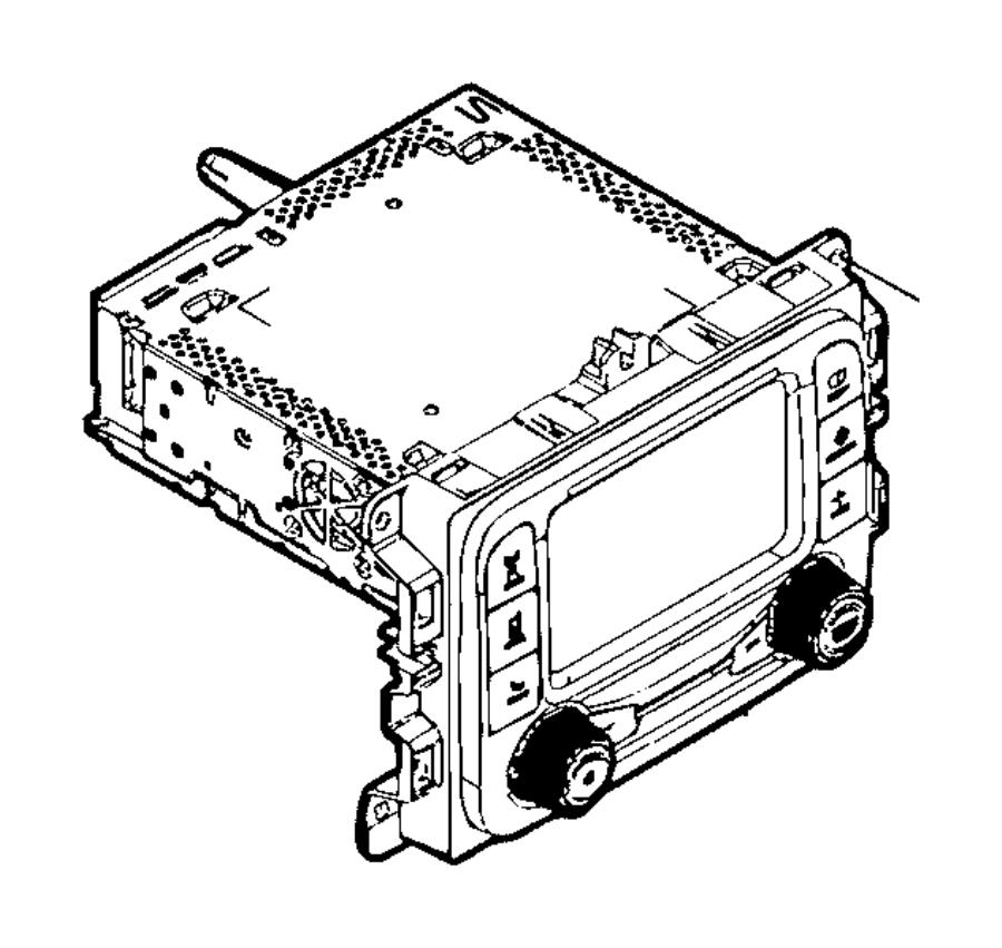 Jeep Renegade Radio. Multi media. Export. [uconnect am/fm