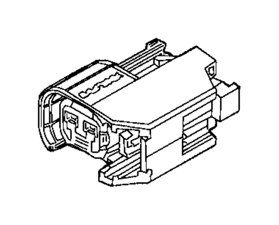 2016 Ram PROMASTER CITY WAGON Connector. Electrical
